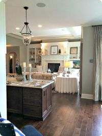notice the living room and kitchen transition, keep the ...