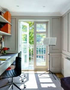 Traditional home office by noda designs also cool decorating ideas rh pinterest