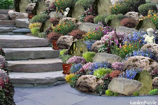 Garden Design Rockery – Spring I Think My MOM Will LOVE This As