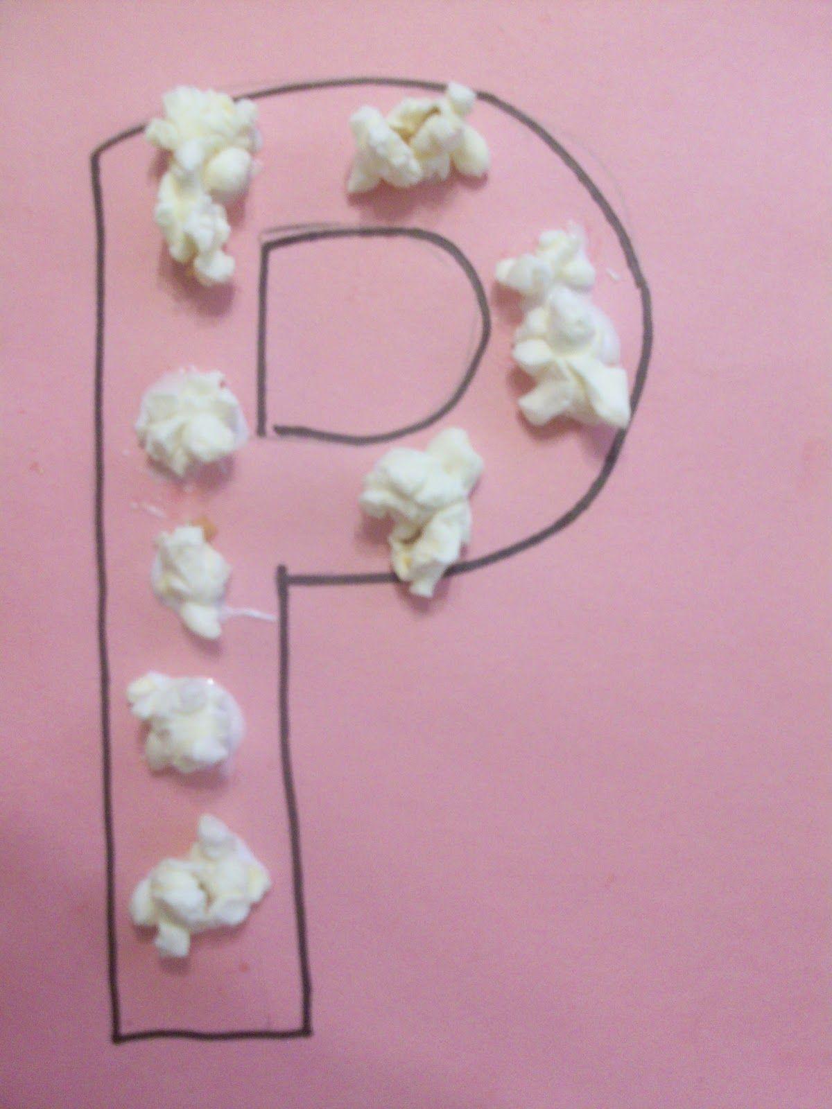 Letter P Crafts