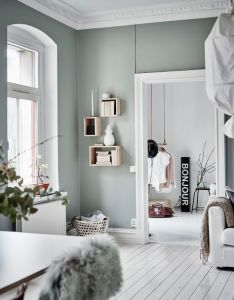Green grey home with character via coco lapine design also interior rh nz pinterest