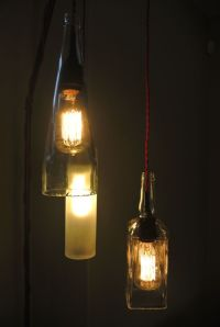 Liquor Bottle Lamp | Liquor, Liquor bottles and Bottle