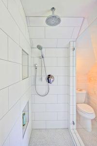 Large White Subway Shower Tile in Modern Farmhouse ...