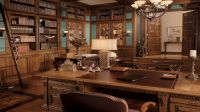 Good Traditional Office Decor With European Traditional ...