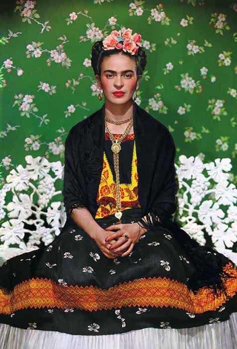 Frida Kahlo Nueva York 1939 Pineado De Cesarbarrioblog