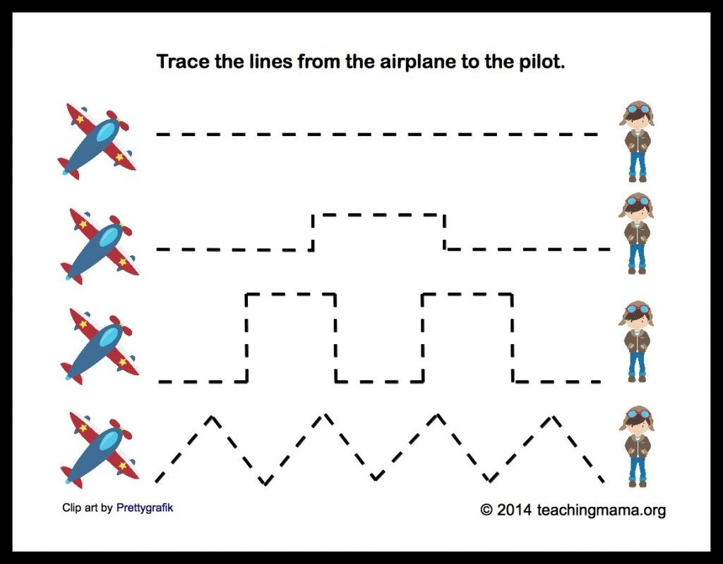 A Is For Airplane Letter A Printables