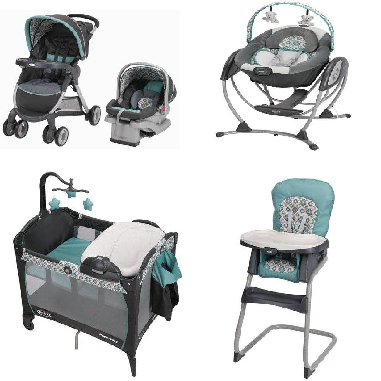 graco winnie the pooh high chair wheelchair hoist affinia blue complete baby gear bundle stroller