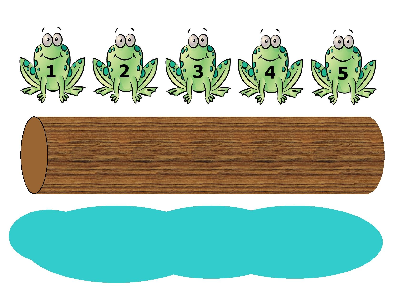 Five Green And Speckled Frogs Fingerplay Is A Fun Way To