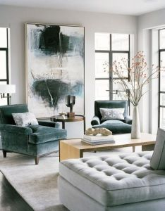 Contemporary living room by leverone design inc also for the home rh pinterest
