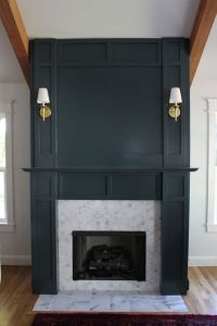 DIY Faux Fireplace Surround | Faux fireplace, Fireplace ...