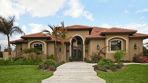 mediterranean style homes in florida