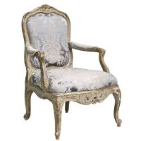 Italian Rococo Genoese Fauteuil | Rococo, Armchairs and Modern