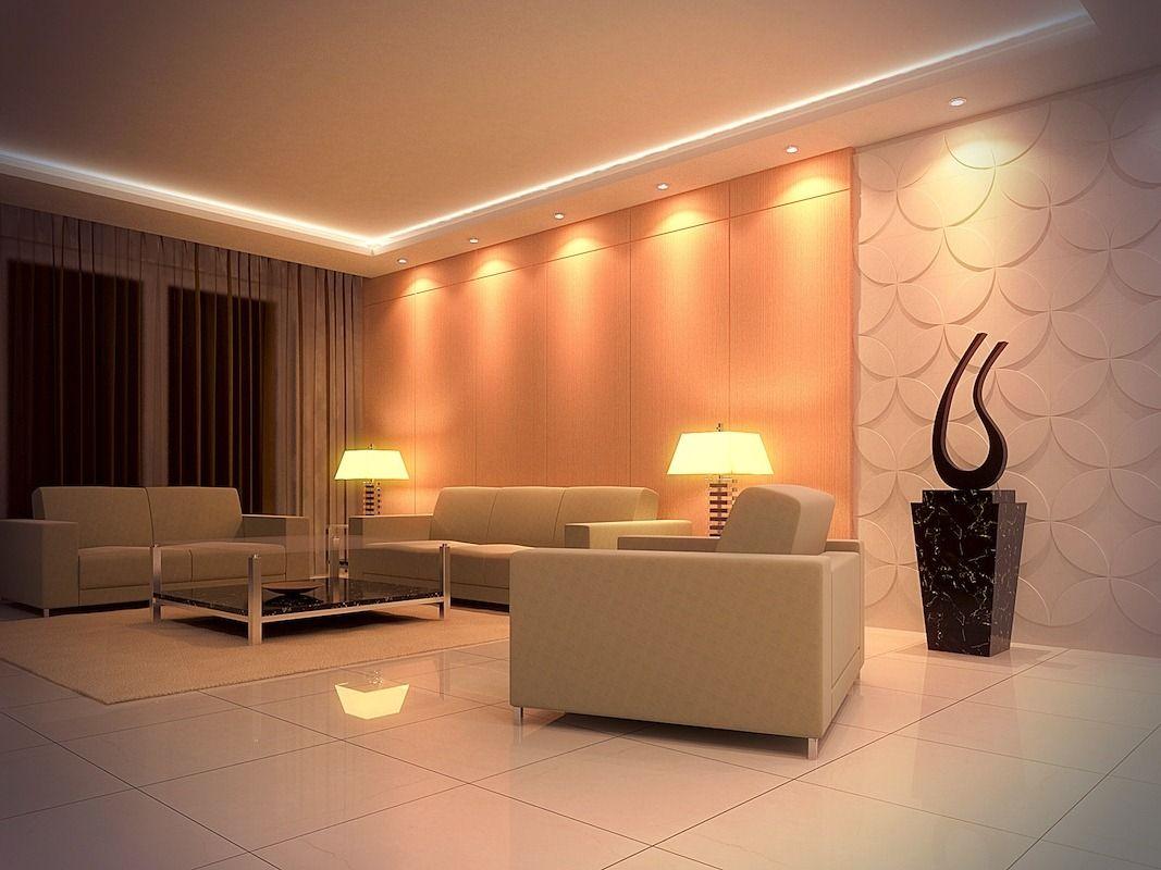 Extraordinary Living Room Lighting Design Ideas: Marvelous