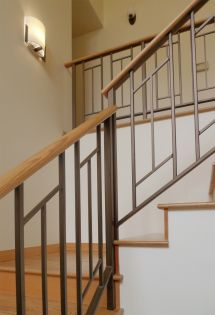 Furniture Simple And Sleek Contemporary Staircase