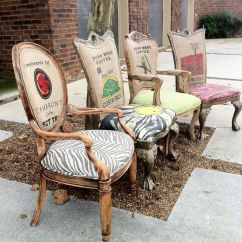Burlap Sofa Chair Leather Set From China Eclectic Dining Chairs Of 4 Lemonaider Via
