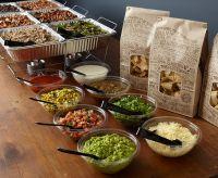 Chipotle  Catering Set-up | Boho Bridal Shower ...