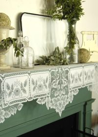 Heirloom Mantle Scarf | Heritage Lace | Home | Pinterest ...