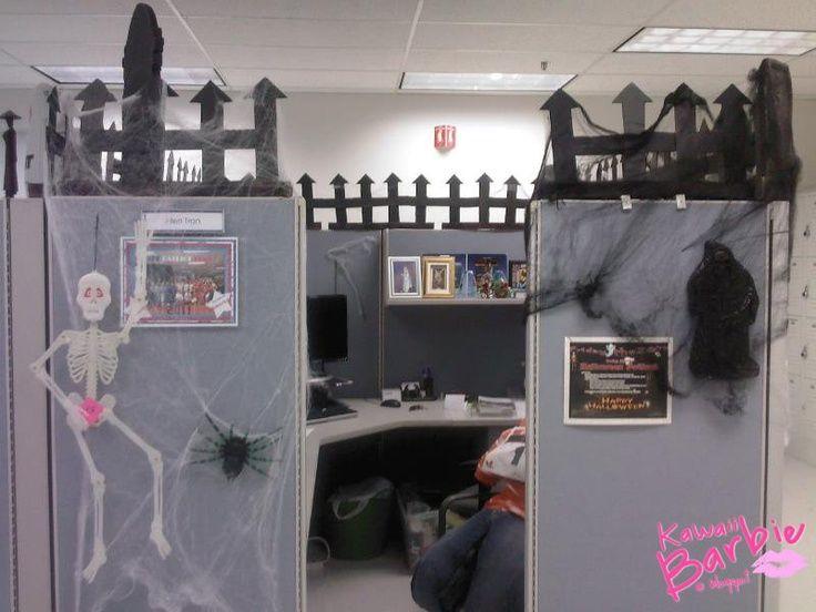 Halloween Office Decoration Theme Ideas
