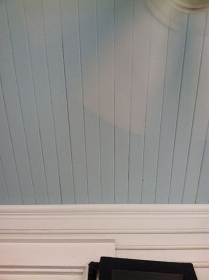 Hunting for haint blue porch ceilings in Charleston via