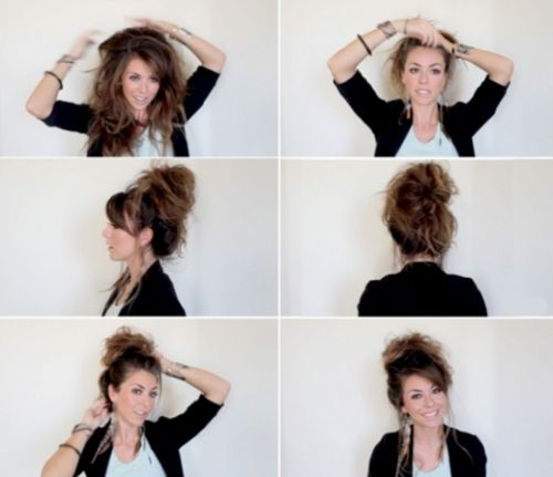 16 Best Images About 80s Hairstyles On Pinterest Messy Bun