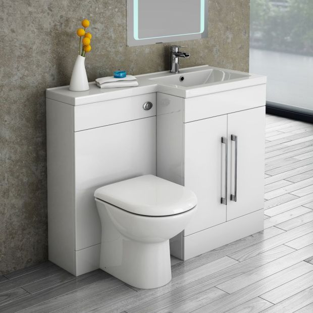 Toilet and Sink Combo for Small Bathroom
