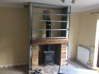 building a fireplace into an existing chimney | Cambridge ...