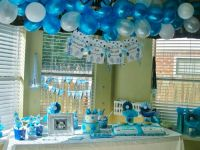 blue and green baby shower decoration ideas - Google ...
