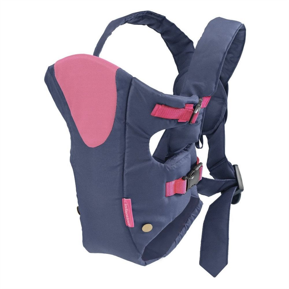 infantino breathe baby carrier pink