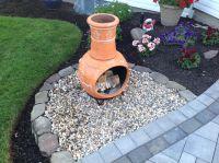 DIY - Chiminea fire pit | Patio ideas | Pinterest ...