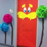 The Lorax door decor
