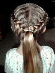braided hairstyles flower girls
