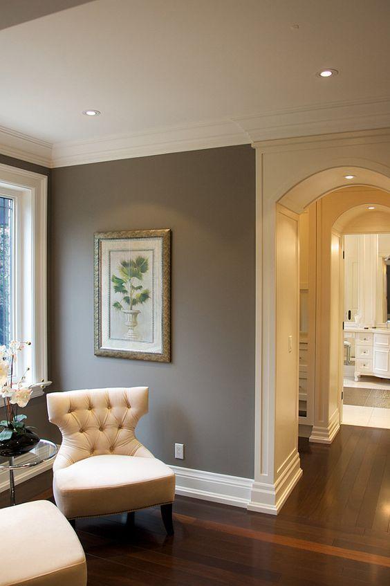 Beautiful Designer Bedrooms To Inspire You Wall Painting Colorsgray Paint  Brown Also Benjamin Moore Rh Pinterest