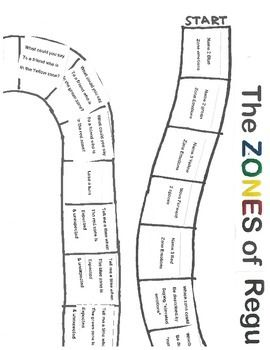 A fun board game I made as a review for the Zones of