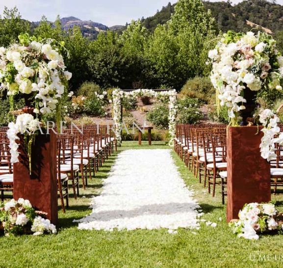 Wedding Ceremony Outdoor Garden Wedding Ceremony Decorations