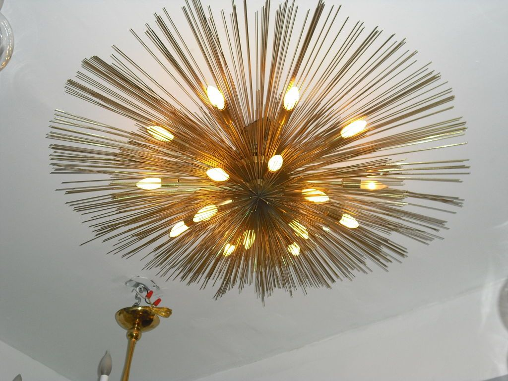 beautiful sculpture flush chandeliers midcentury mdern