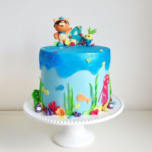 Octonauts Birthday Cake Toppers
