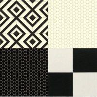 Cushion Floor Vinyl Black White Design Sheet Lino Kitchen ...