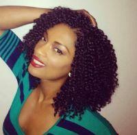 Crochet Braids Protective Hairstyles using Kanekalon Hair ...