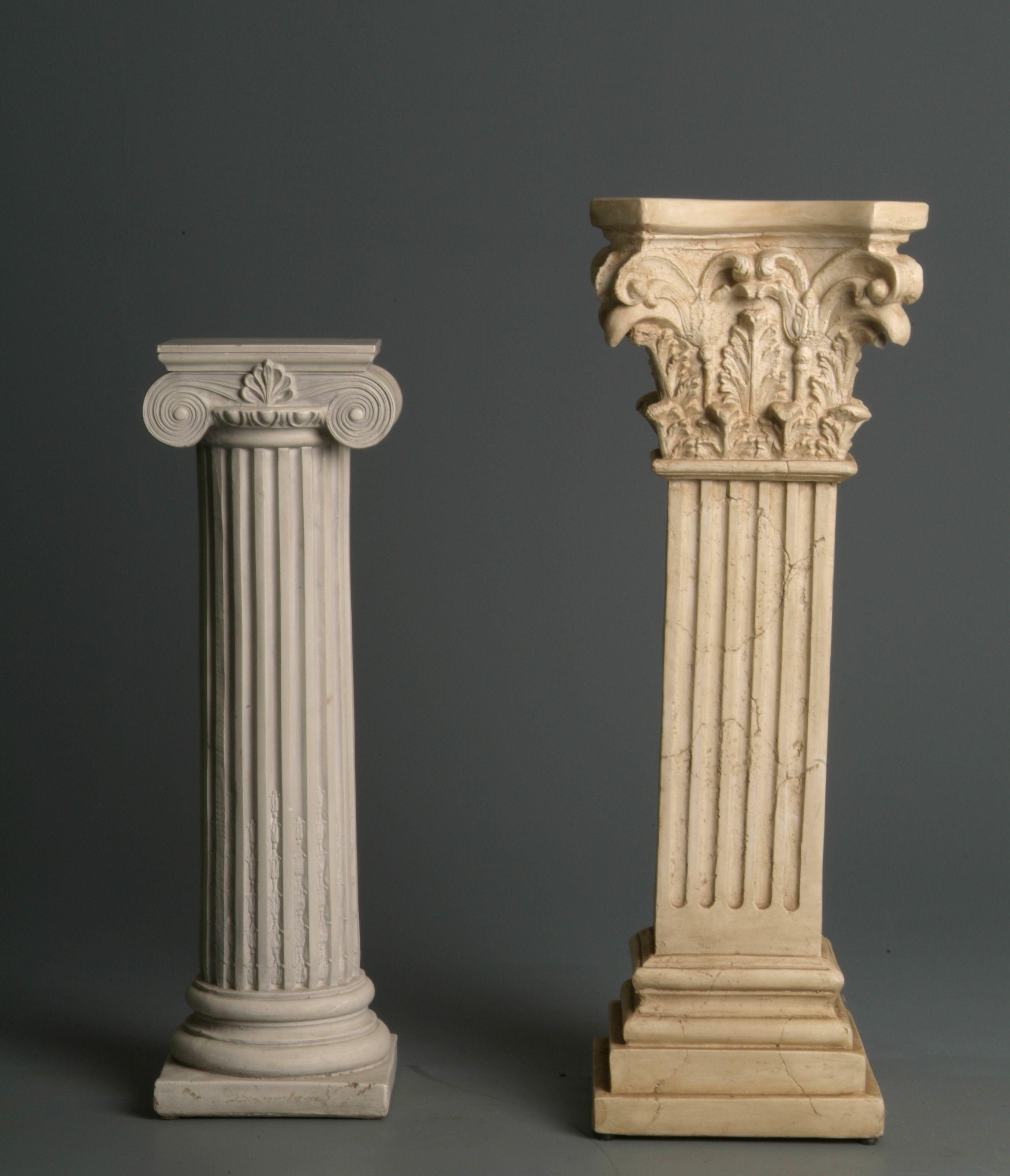 Pedestals By Mjranum Stock