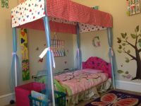 PVC pipe canopy toddler bed | Cute Baby Stuff For Greta ...
