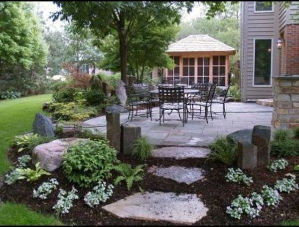 outdoor area living