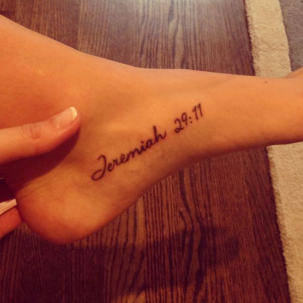 Jeremiah 29 11 Tattoo With Compass Vtwctr