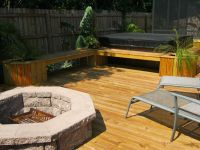 deck with fire pit | Fire Pits | Exterior Concepts Blog ...