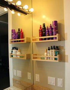 Bathroom organization easy diy projects anyone can do apartment decorationapartment ideasapartment also best images about tiny home dreams on pinterest headboards rh