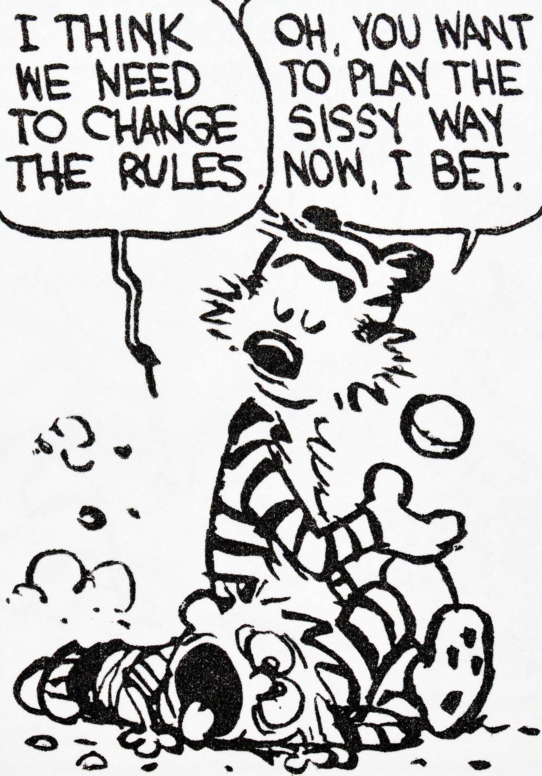 Calvin and Hobbes, DE's CLASSIC PICK of the day (7-2-14