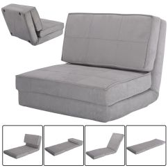 Flip Out Chair Pressed Back Kitchen Chairs Fold Down Lounger Convertible Sleeper Bed