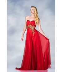 Red And Gold Ball Gown Dresses | www.imgkid.com - The ...