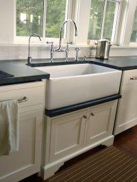 drip rail closeup farmhouse sink shaw | Kitchens ...