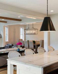 Interior design ideas countertop is white macaubas quartzite lighting visual comfort also rh pinterest