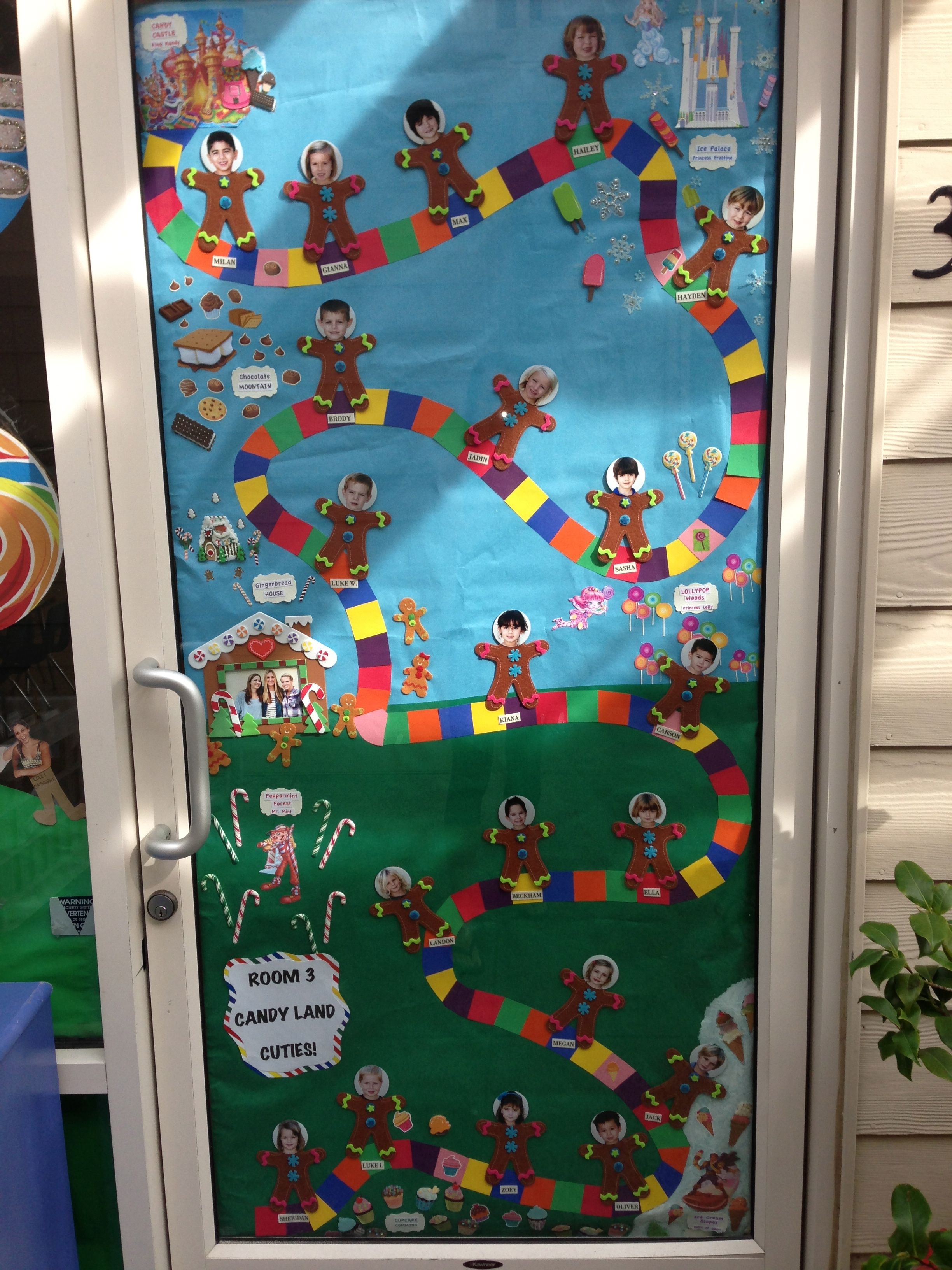 Candy Land Door